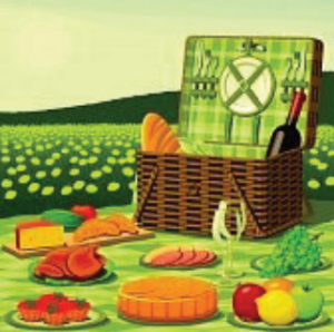 Picnic graphic