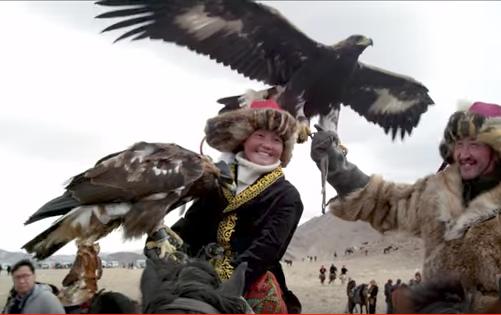 The Eagle Huntress - movie