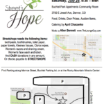 Street's Hope Fundraiser – July 29, 2017