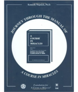 Journey through the Manual of A Course in Miracles - book cover