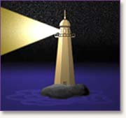 lighthouse graphic: FACIM.org seminar logo
